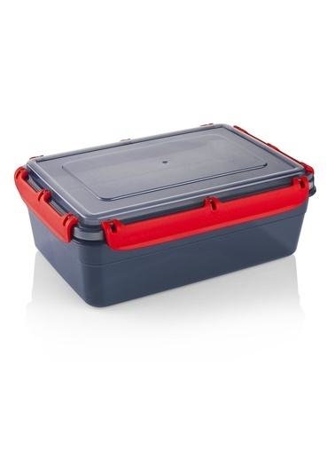 Schafer Green Plastik Saklama Kabı-2,6 LT-89845 Gri